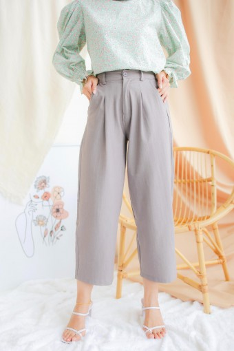 Casey Pants In Cool Grey