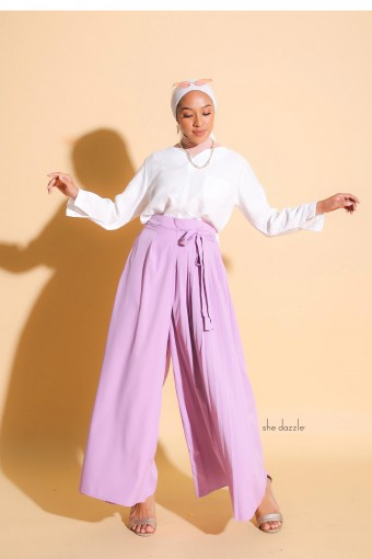 Atella Pants In Lilac