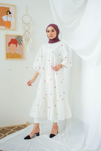 Quinara Dress In White