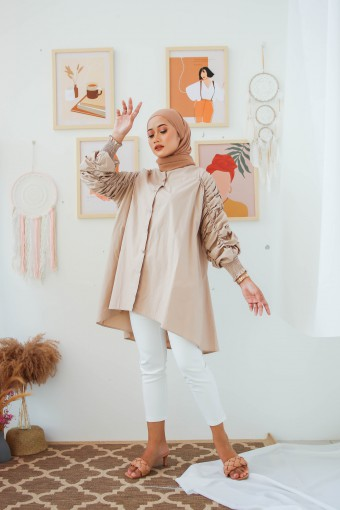 Beverly Top In Nude