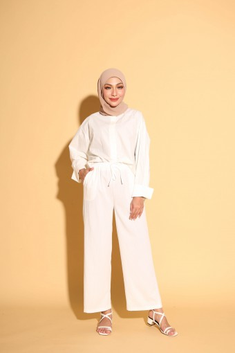 Luzy Pants In White
