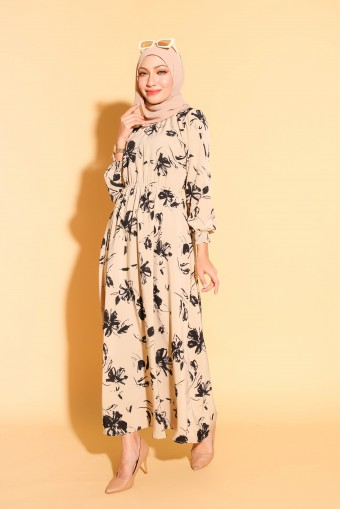 Rania Dress In Latte
