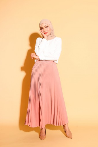 Bianca Skirt In Dusty Pink