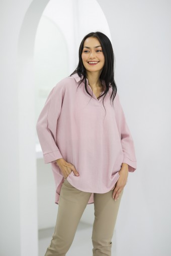 Kelly Top in Blush Pink